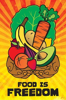 Food Is Freedom | by threepartharmony