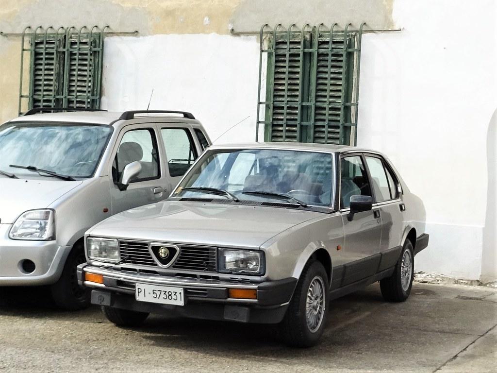 1984 Alfa Romeo Alfetta 2 0 Alessio Flickr
