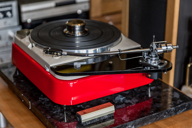 Thorens TD 124 Vintage Turntable Project With SME 3012R Tonearm And Denon 103R Cartridge