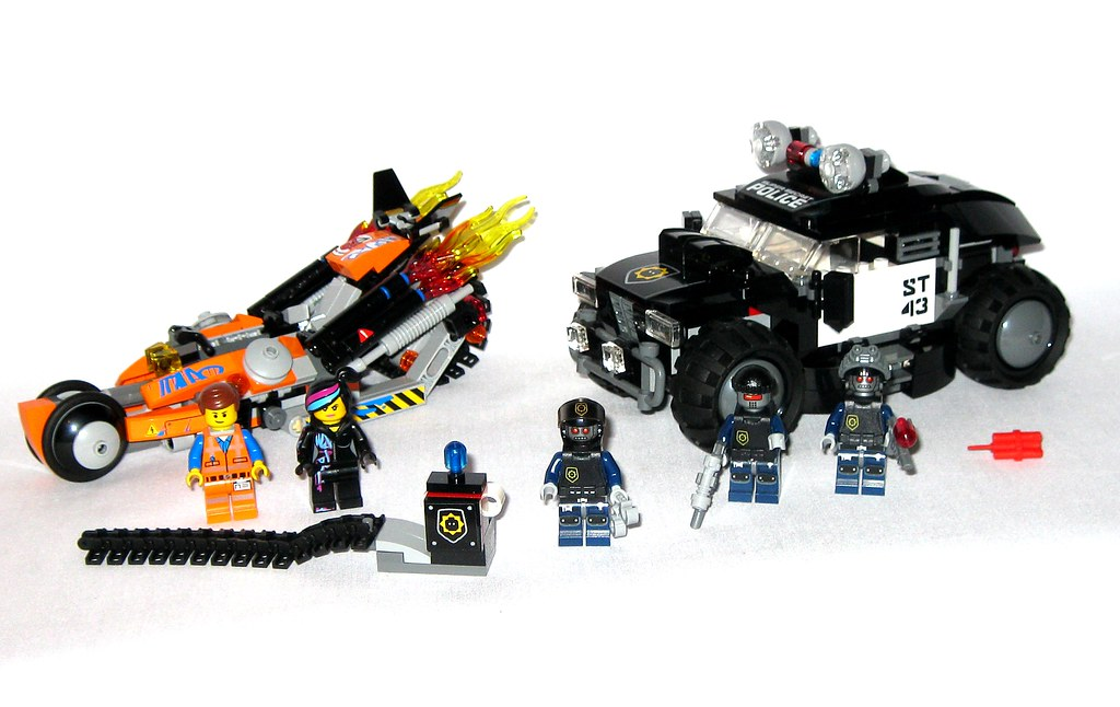 Lego 70808 The Lego Movie Super Cycle Chase 2014 C Flickr