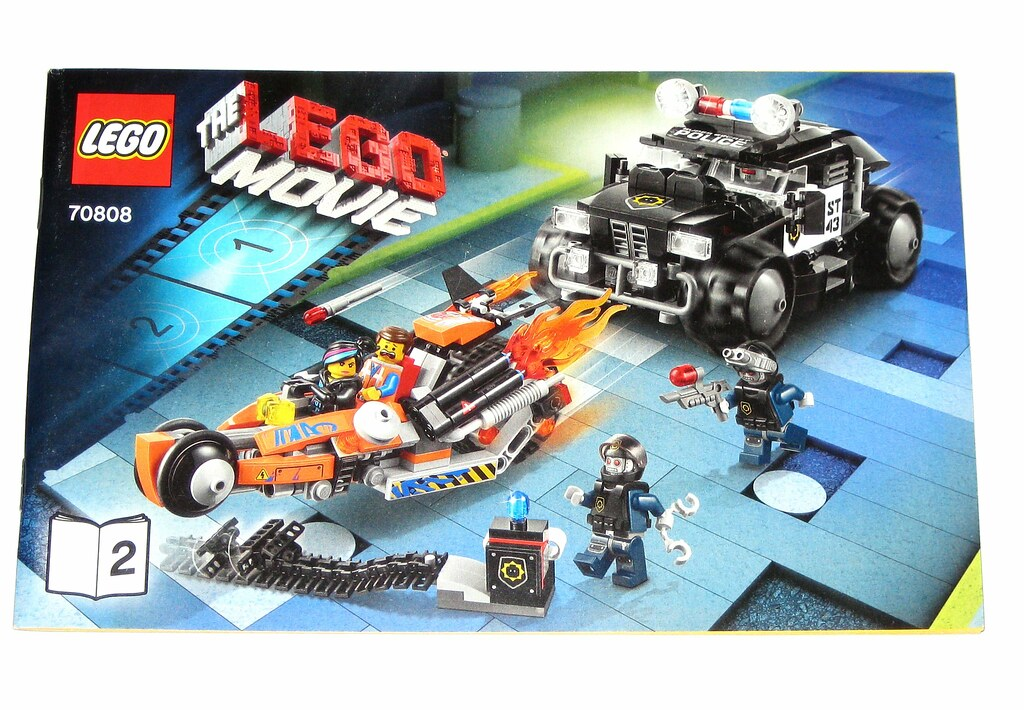 Lego 70808 The Lego Movie Super Cycle Chase 2014 W Instruc Flickr