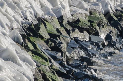 winter winter2018 sandyhook sandyhooknewjersey sandyhooknj barrierspit monmouthcountynewjersey monmouthcounty ice winterice wisconsinglaciationperiod gatewaynationalrecreationarea