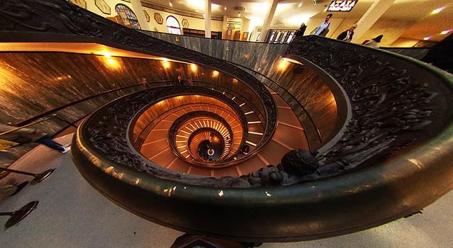 Bramante Stairs, Vatican Museum