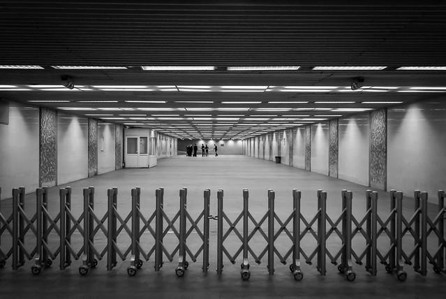 Underground station at Tiananmen