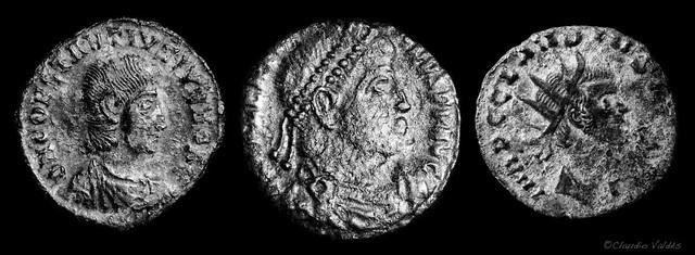- Three Roman Coins -