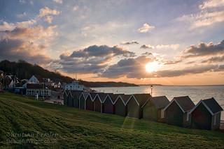 Gurnard bay near sunset   by Christian Beasley