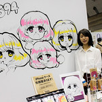 Artist at Booth