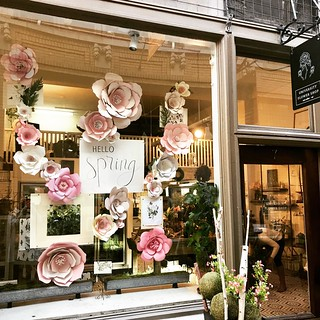 @universityflowershop putting a little spring in our step 🌷🌸😍 #springiscoming | by valatal