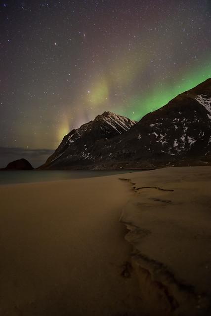 Haukland Beach - Lofoten Islands Norway