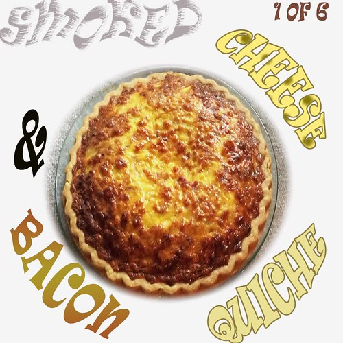 Smoked Cheese and Bacon Quiche slide 1