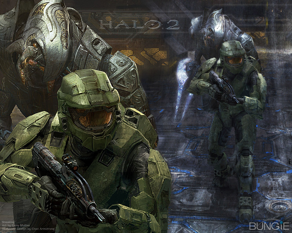Chief And Arbiter Wallpaper Of Master Chief And The Arbite