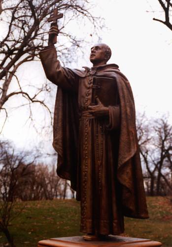 Marquette Park - Pere Marquette Statue