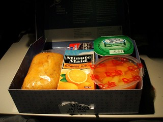 Snack Before Arrival by Air Canada  YUL-FRA