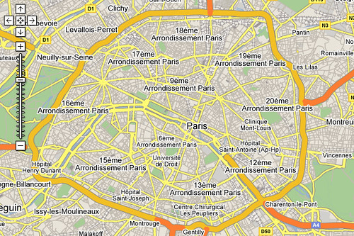 google maps does paris | This is sweet. Today Google maps ro ...
