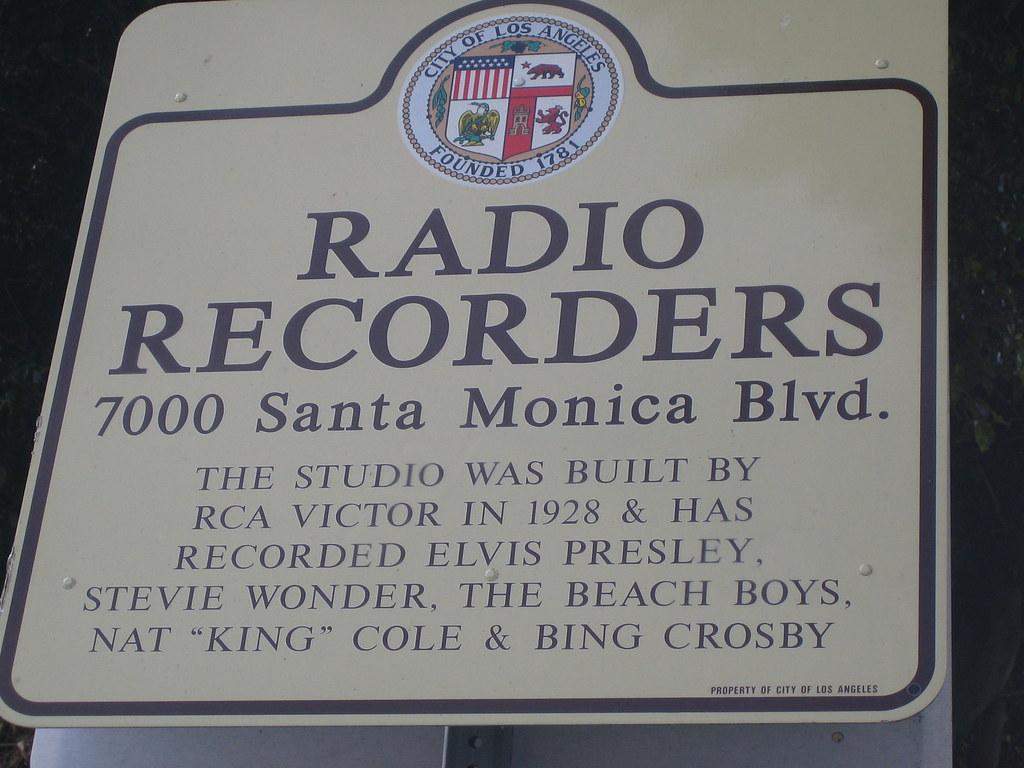 Radio Recorders.. 7000 Santa Monica Blvd   The studio was bu…   Flickr