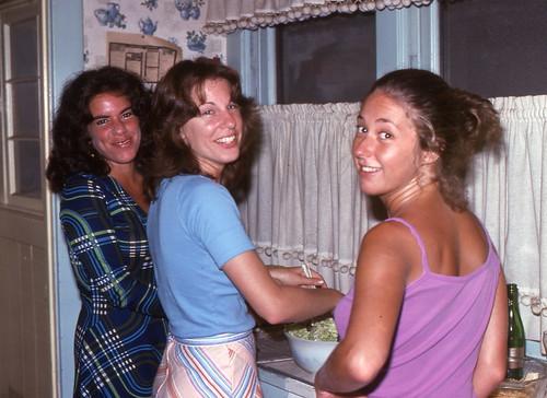 Labor Day at Carl Lieberman's, 1976