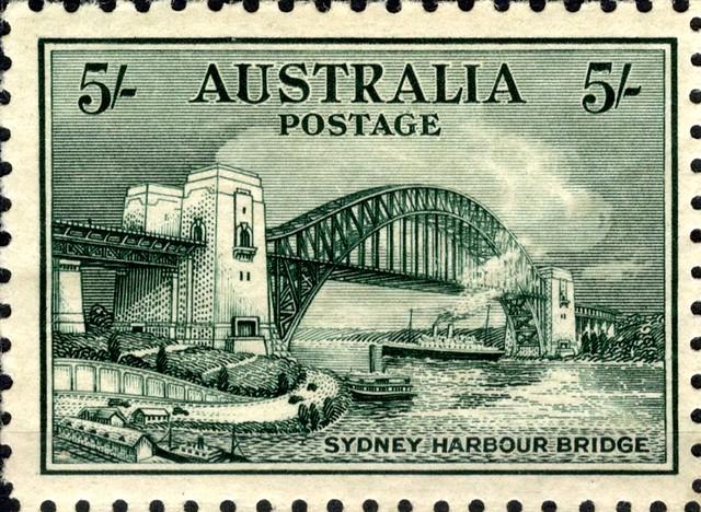 Sydney Harbour Bridge, Australia Postage Stamp