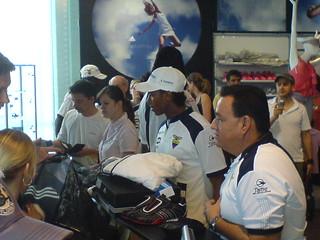 Team Ecuador at adidas