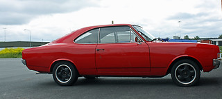1971 Opel Rekord 1900 Coupè