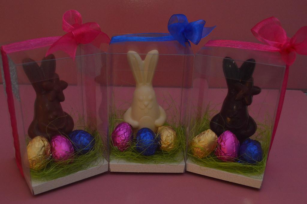 Húsvéti nyúl-tojás csomagok