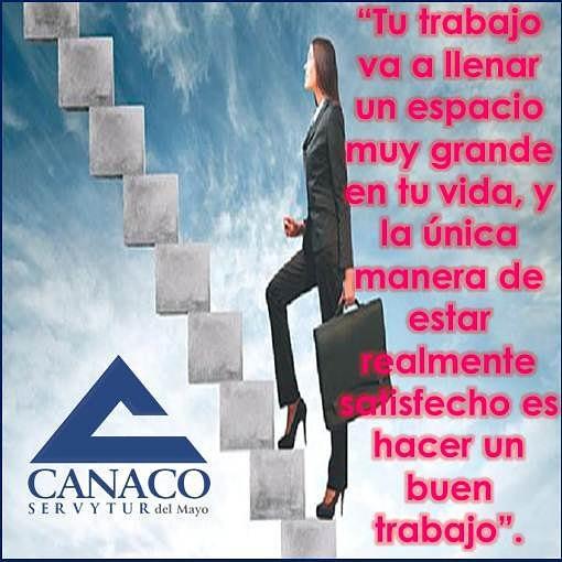 Frase At Canacodelmayo Tu Trabajo Va A Llenar Un Espacio Mu
