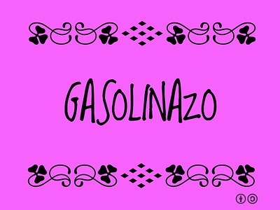 Gasolinazo = Fuel price hike