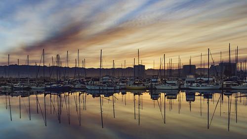 california emerycove emeryville oakland pixelmama sunrise explore