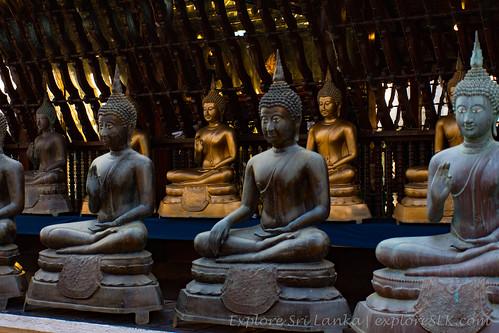Gangaramaya temple Seema Malakaya   by exploreslk