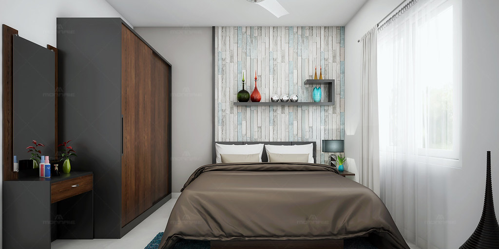 Trendy Bedroom Interior Decorators In Thrissur Monnaie Architects Flickr