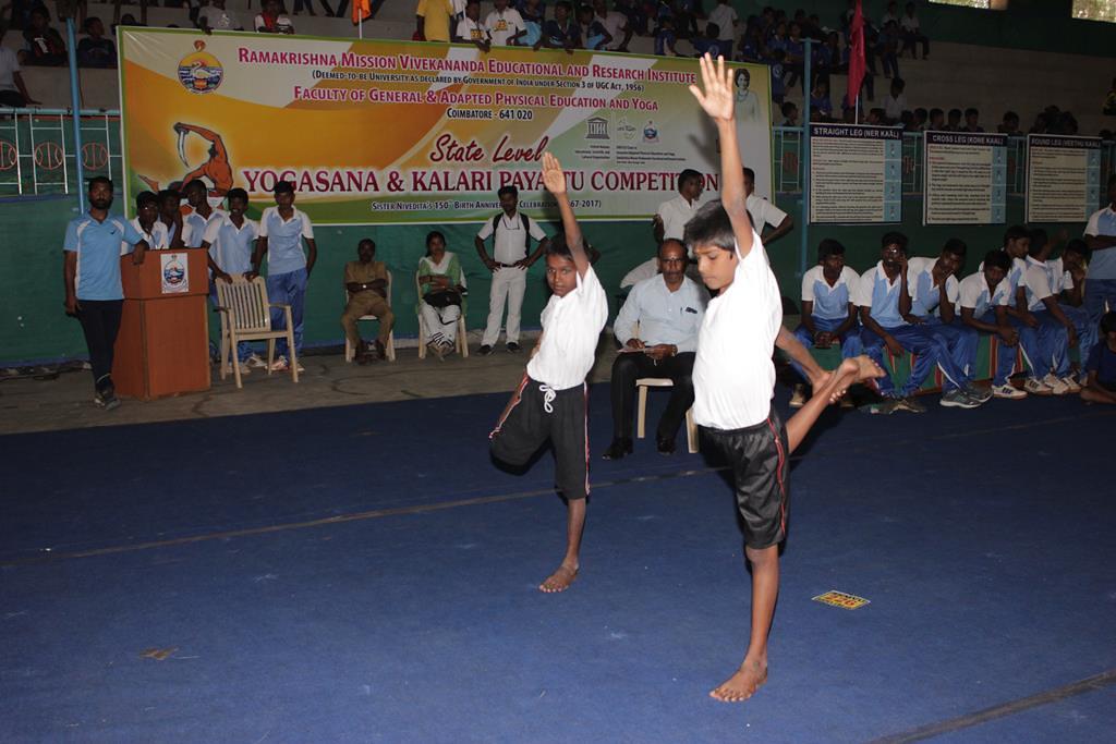 5th State Level Yoga & 3rd State Level Kalari Payattu