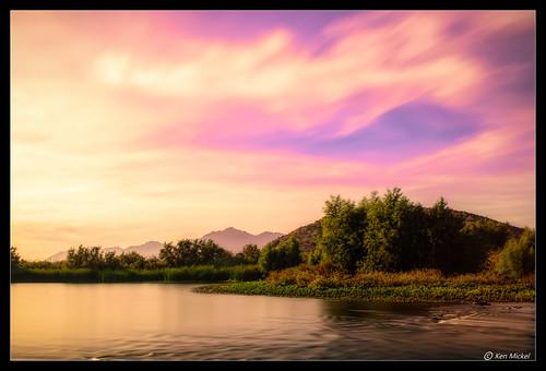 arizona avondale avondalearizona clouds cloudscape cloudy gilariver kenmickelphotography landscape longexposure outdoors river riverbank sky sunrise tresrios waterscape nature photography water tolleson unitedstates us