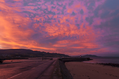 sunrise buncrana donegal inishowen ireland lighthouse loughswilly swilly