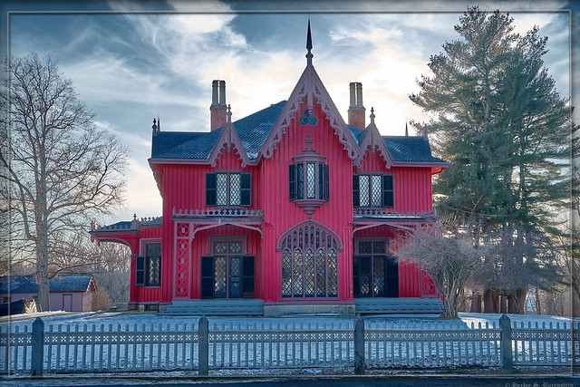 Stately Victorian in Connecticut.
