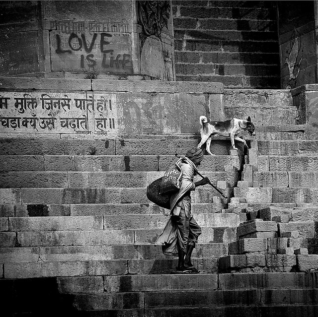 Love is life~ varanasi
