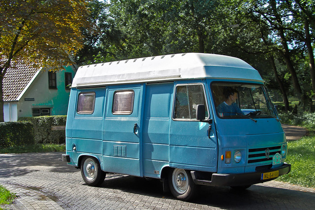 Peugeot J9 High-Roof Campervan 1981 (6057)