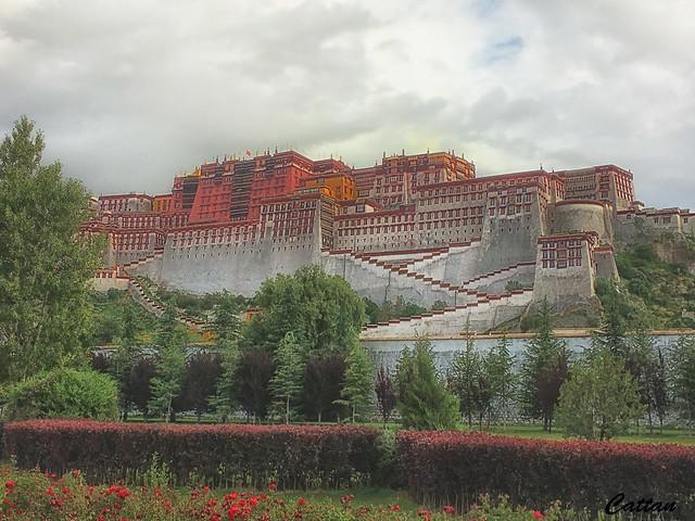 Potala Palace - Lhase, Tibet