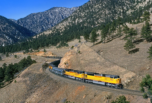 unionpacific up emd sd90mach testcar 8503 plain plainview coalcreekcanyon formerriogrande upmoffattunnelsub electromotivedivision colorado co tunnel1