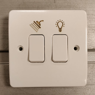 Engraved Light Switch | by simonarlott