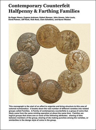 Contemporary Counterfeit Families cover | by Numismatic Bibliomania Society
