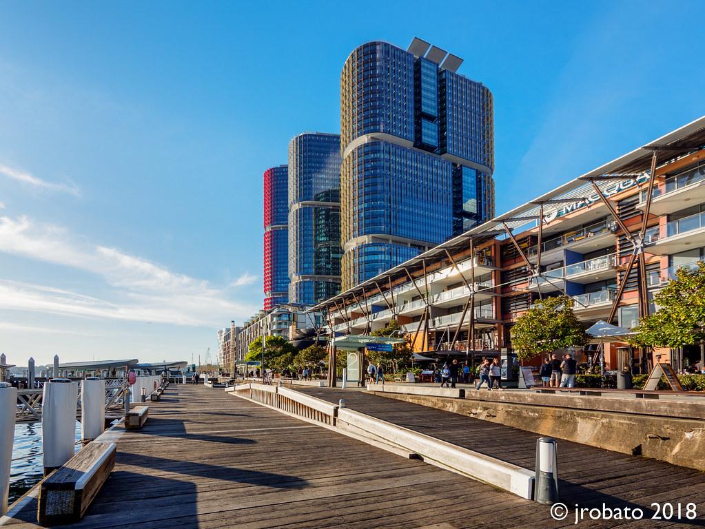 King Street Wharf & International Towers Sydney. Barangaroo, NSW