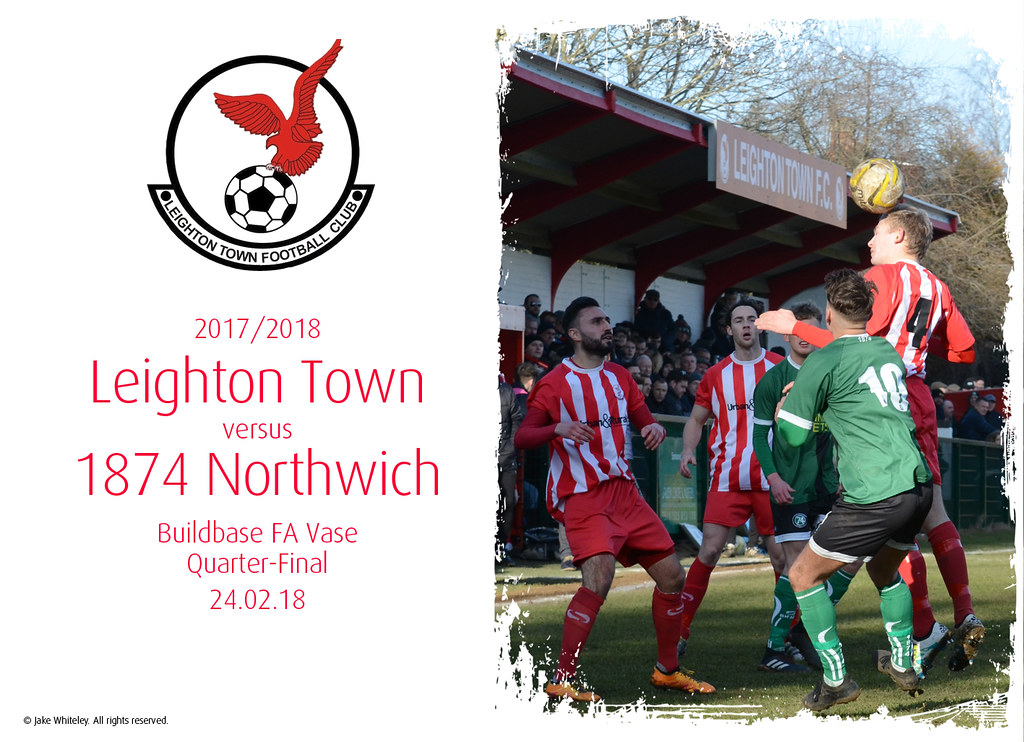 2017/18: Leighton Town v 1874 Northwich (24.02.18)