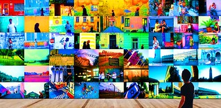 The Great Wall of Humanity: World Walls Mural No. 1 (Limited Edition of 3)   by World Walls/World Lights Murals