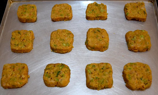 Carrot Cookies before baking