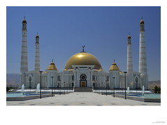 Gypjak Mosque, Ashgabat