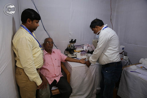 Free Blood Tests in the Samagam Campus