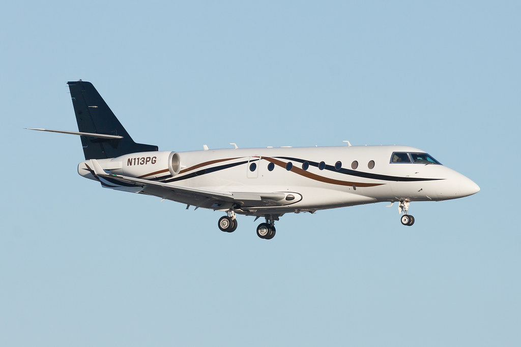 Private Gulfstream G200 N113PG Owned By A Galloping Goose