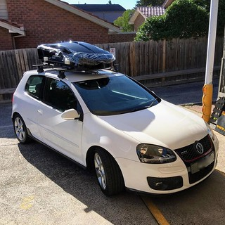 roof rack for vw golf r