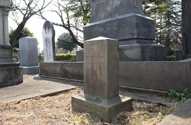 青山霊園 Benjamin Vernor Herod 1896-1897