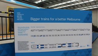 New metro train mockup: diagram showing 7-car layout and consist | by Daniel Bowen