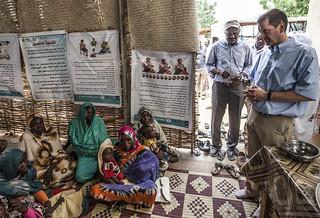 Administrator Green Visits clinic in Darfur, Sudan